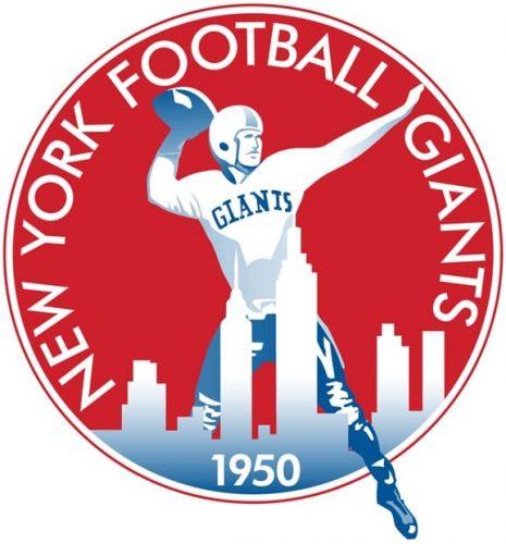 1950 New York Giants logo