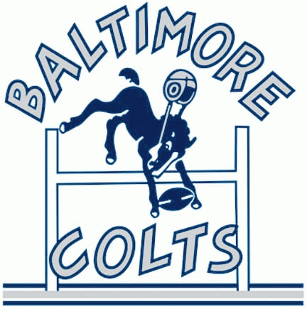1953 Indianapolis Colts Helmet logo