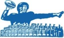 1956 New York Giants logo