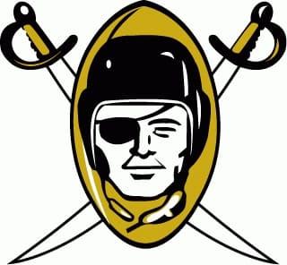 1960 Las Vegas Raiders logo