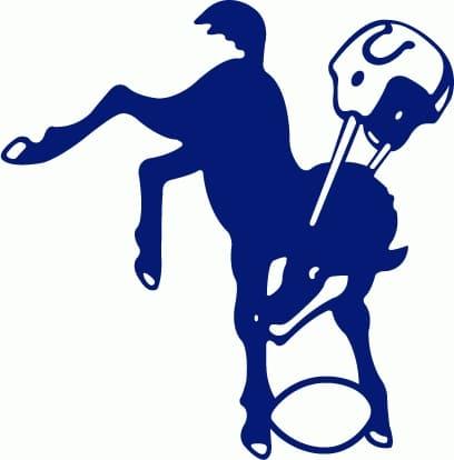 1961 Indianapolis Colts Helmet logo