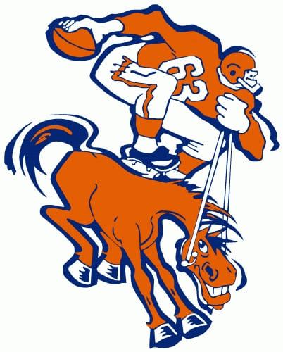 1962 Denver Broncos logo