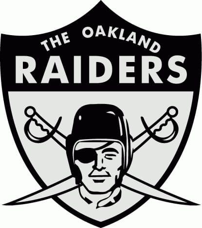 1963 Oakland Raiders logo