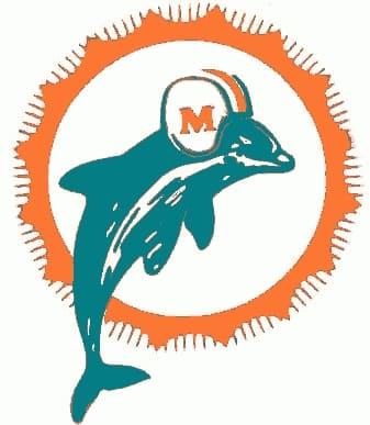 1966 Miami Dolphins logo