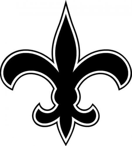 1967 New Orleans Saints logo