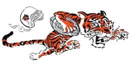 1968 Cincinnati Bengals logo