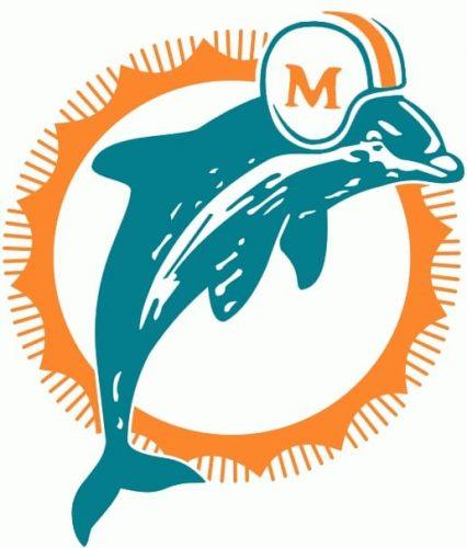1974 Miami Dolphins logo