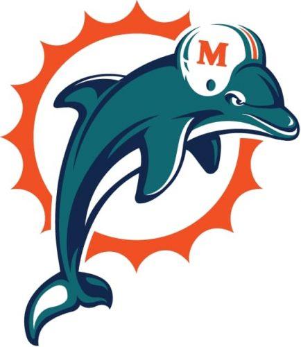 1997 Miami Dolphins logo