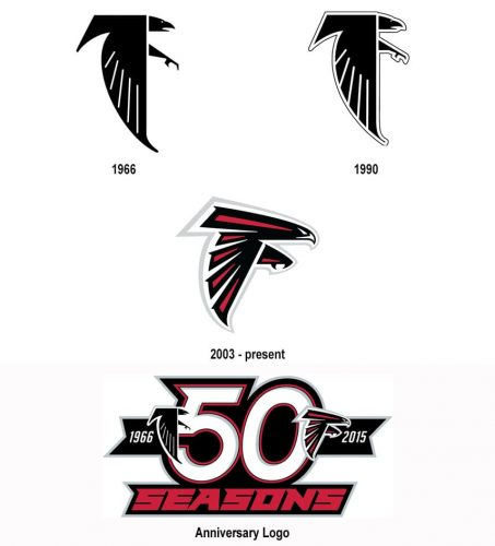 Atlanta Falcons logo history