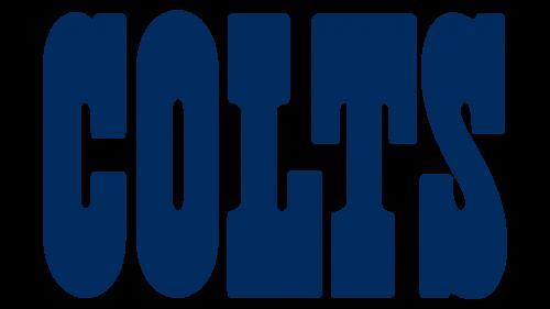 Baltimore Colts Wordmark