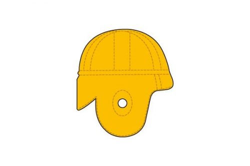 Cleveland Rams Helmet