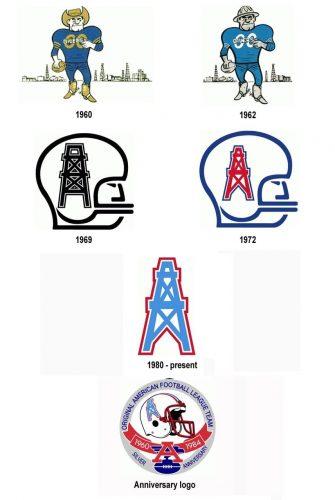 Houston Oilers logo history