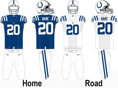 Indianapolis Colts Uniform
