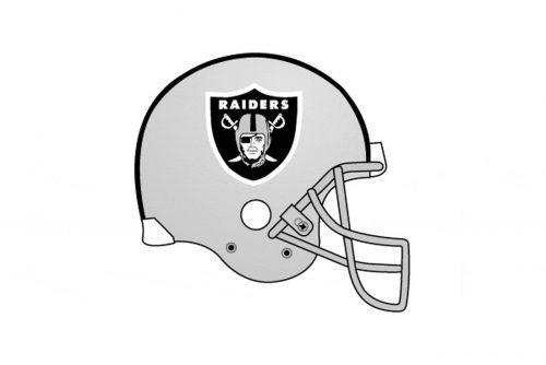 Los Angeles Raiders Helmet