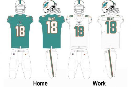 Miami Dolphins Uniform