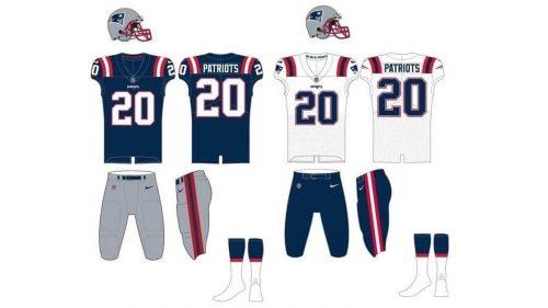 New England Patriots Uniform