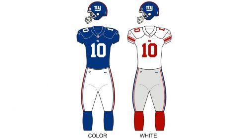 New York Giants Uniform