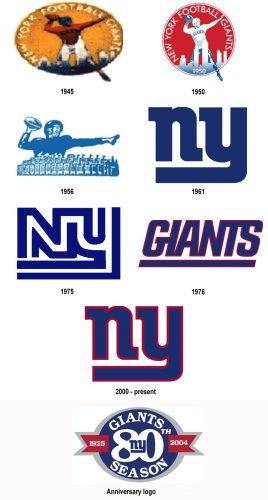 New York Giants logo history