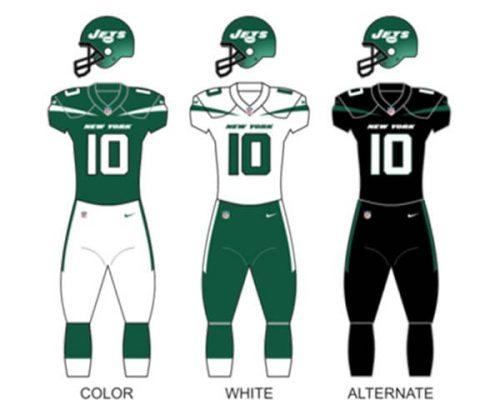 New York Jets Uniform