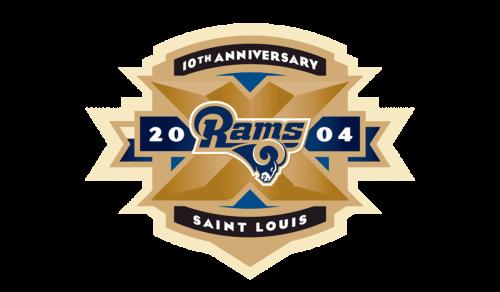 St. Louis Rams 2004 logo