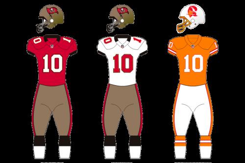 Tampa Bay Buccaneers Uniform