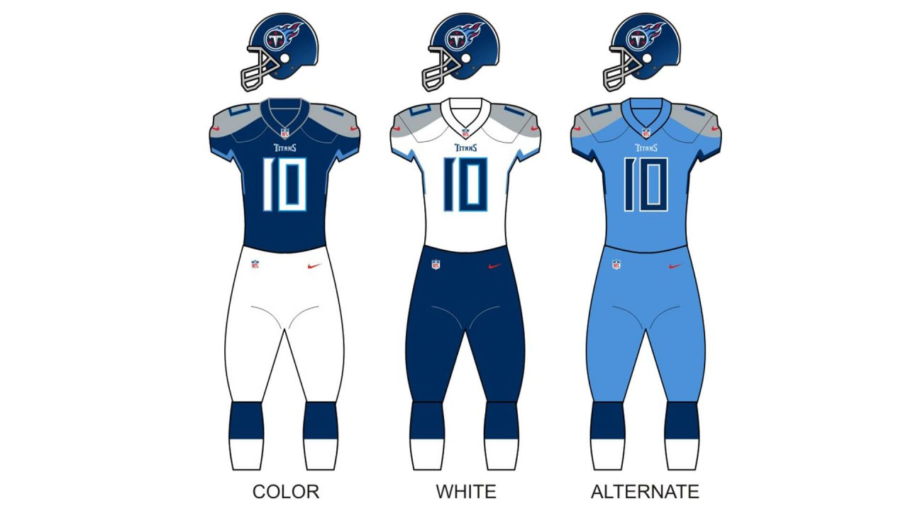 Tennessee Titans Uniform