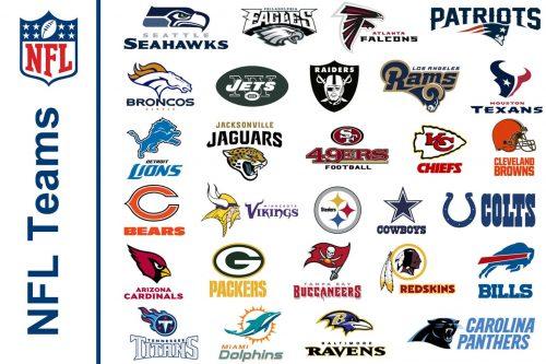 All NFL teams 32