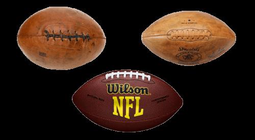 american football old vintage ball