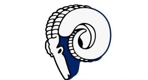 1944 Los Angeles Rams logo