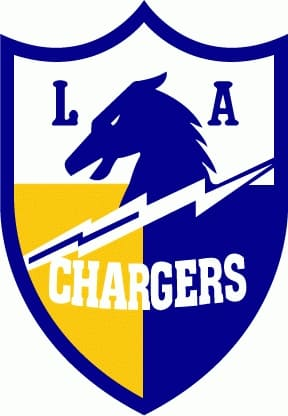1960 Los Angeles Chargers logo