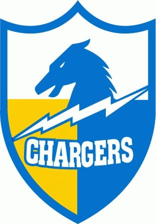 1961 San Diego Chargers logo
