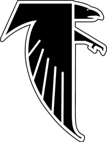 1990 Atlanta Falcons logo