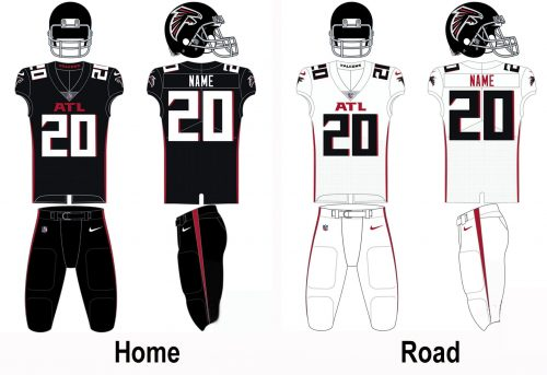 Atlanta Falcons Uniform