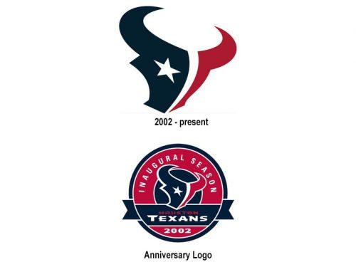 Houston Texans logo history