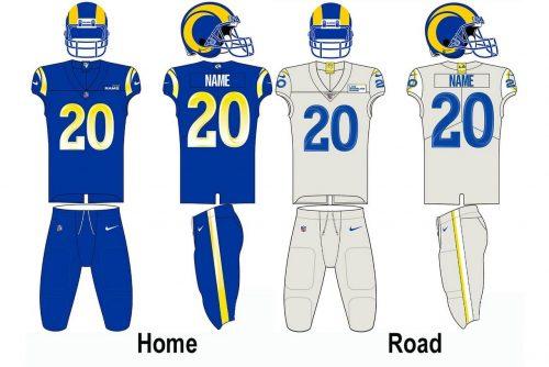 Los Angeles Rams Uniform