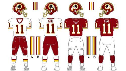 Washington Redskins Uniform