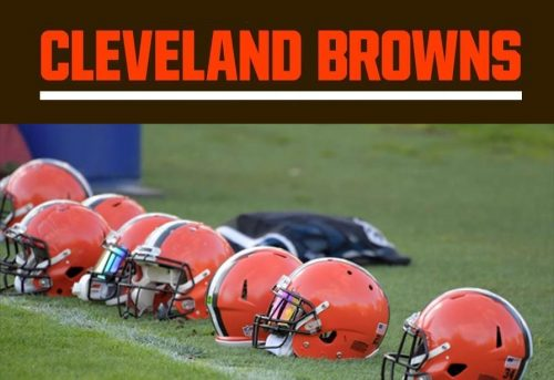 cleveland browns helmets